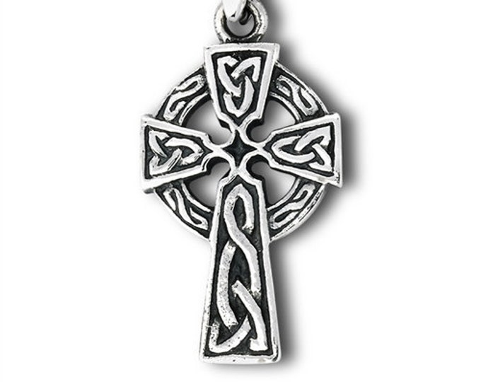 Celtic Cross, Cross Necklace, Mother's Day Gift, Anniversary Gift, Gift for Her, First Communion Cross, Baptism Cross, Religious Jewelry
