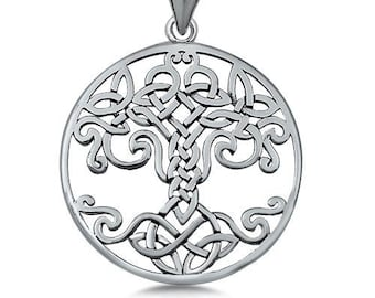 Tree of Life Necklace, Celtic Necklace, Irish Jewelry, Bridal Jewelry, Viking Jewelry, Best Friend Gift, Scotland Jewelry, Norse Jewelry