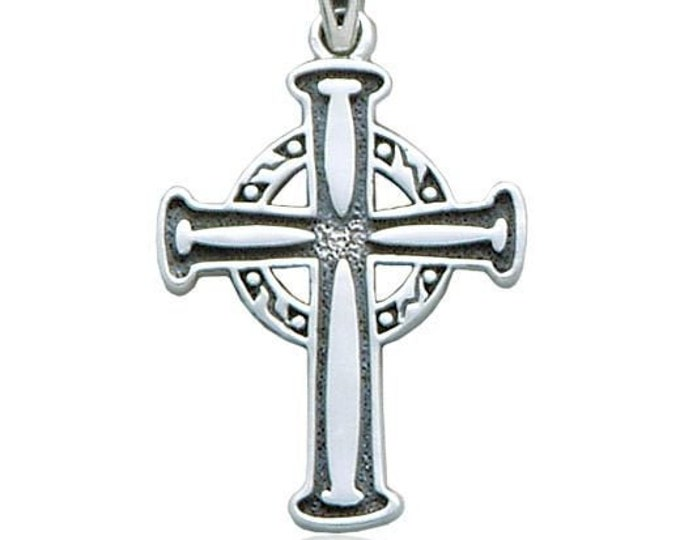 Celtic Cross Necklace, Irish Jewelry, Cross Necklace, Celtic Jewelry, Scotland Jewelry, Religious Jewelry, Catholic Jewelry, Christian Cross