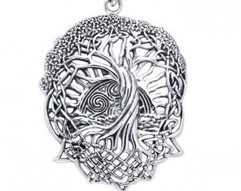 Tree of Life Necklace, Norse Pendant, Celtic Jewelry, Viking Jewelry, Mom Gift, Graduation Gift, Anniversary Gift, Wife Gift, Best Friend