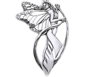 Fairy Necklace, Celtic Necklace, Spiritual Jewelry, Butterfly Necklace, Anniversary Gift, Celtic Jewelry, Wiccan Gift, Wife Gift
