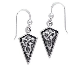 Celtic Knot Earrings, Irish Jewelry, Scotland Jewelry, Mom Gift, Anniversary Gift, Wiccan Jewelry, Sister Gift, Girlfriend Gift, Wife Gift