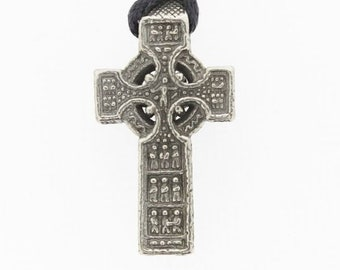 Celtic Cross, Cross Necklace, Easter, Mother's Day, Anniversary, Gift for Her, Sister, Feis, Wife, Girlfriend, Best Friend, Ireland