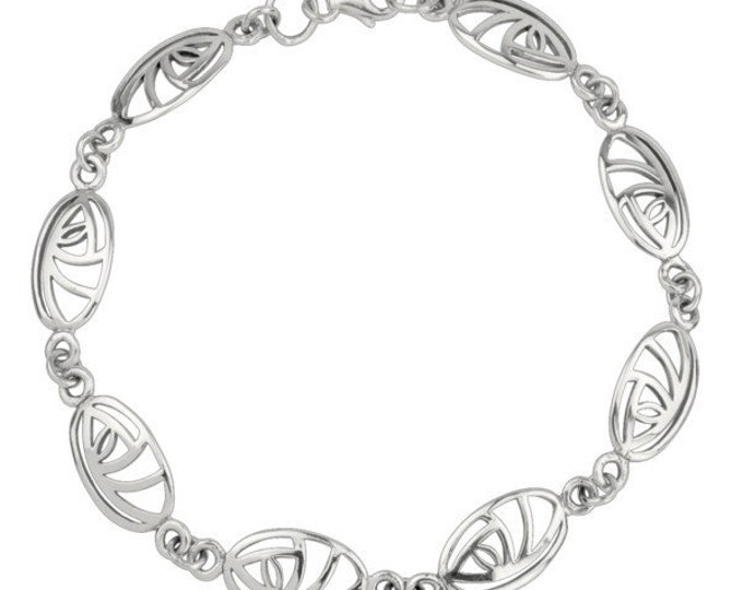 Rose Celtic Bracelet, Scotland Jewelry, Celtic Jewelry, Easter Gift, Mother's Day, Graduation Gift, Bridesmaid, Gift for Her