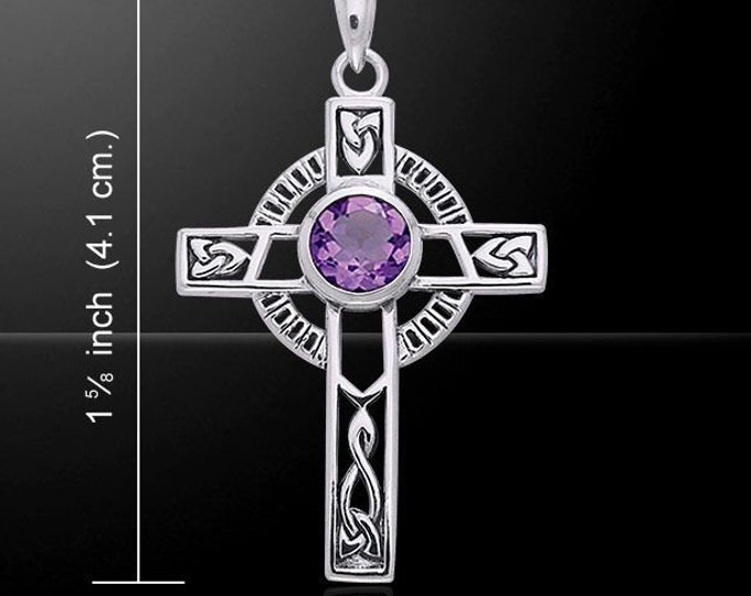 Celtic Cross Necklace, Irish Jewelry, First Communion Cross, Cross Necklace, Religious Jewelry, Bridal Jewelry, Religious Jewelry, Celtic