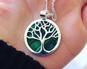 Tree of Life Necklace, Celtic Necklace, New Age Jewelry, Anniversary Gift, Bridal Jewelry, Norse Jewelry, Gift for Her, Yoga Jewelry, Nature