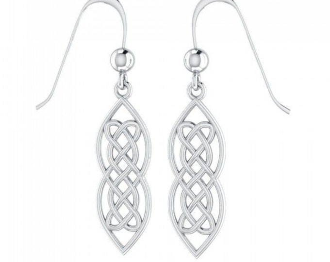 Celtic Knot Earrings, Irish Jewelry, Mom Gift, Anniversary Gift, Wiccan Jewelry, Sister Gift, Girlfriend Gift, Wife Gift, Scotland Jewelry