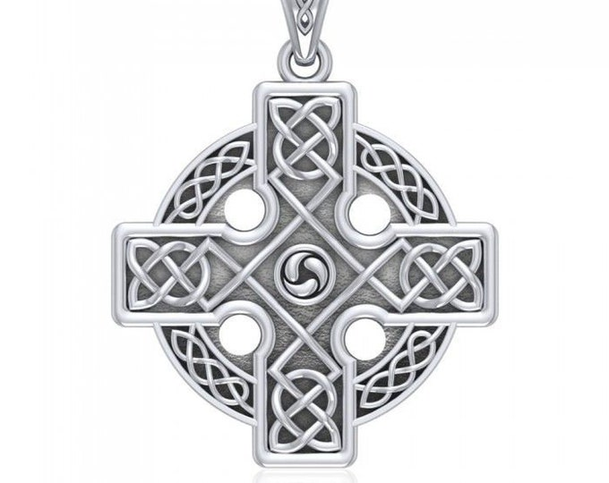 Celtic Cross Necklace, Irish Jewelry, Cross Pendant, First Communion Gift, Spiritual Jewelry, Celtic Jewelry, Religious Jewelry