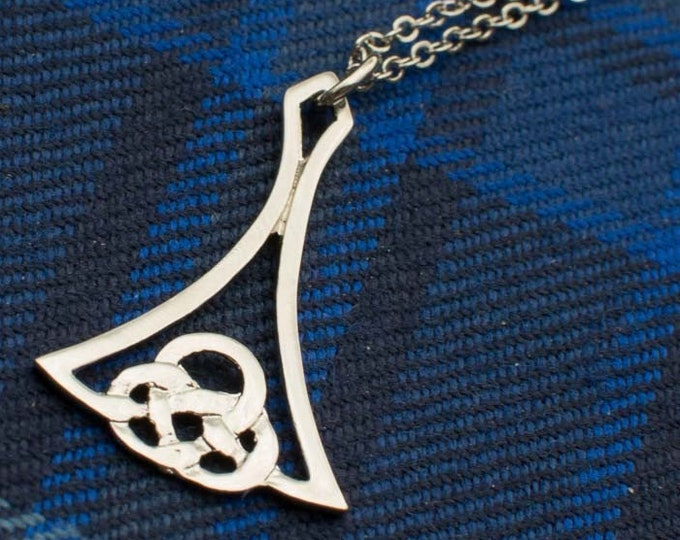 Celtic Flame Necklace, Celtic Jewelry, Scotland Necklace, Celtic Knot Jewelry, Irish Jewelry, Pagan Jewelry, Wiccan Jewelry, Mother Gift