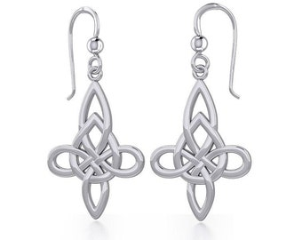 Celtic Knot Earrings, Irish Jewelry, Scotland Jewelry, Mom Gift, Anniversary Gift, Wiccan Jewelry, Sister Gift, Girlfriend Gift, Wife Gift
