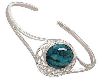 Scotland Heather Bracelet, Scottish Jewelry, Outlander Jewelry, Nature Jewelry, Gift for Her, Mom Gift, Celtic Bracelet, Girlfriend Gift