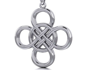 Celtic Knot Necklace, Irish Jewelry, Celtic Jewelry, Norse Jewelry, Mom Gift, Bridal Jewelry, Scotland Jewelry, Anniversary Gift, Wiccan