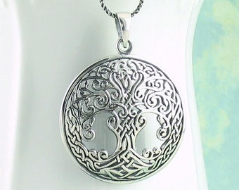 Tree of Life Necklace, Celtic Necklace, Irish Jewelry, Yoga Jewelry, Bridal Jewelry, Viking Jewelry, Mom Gift, Wiccan Jewelry, Norse Jewelry