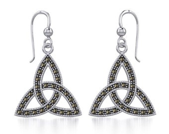 Celtic Knot Earrings, Irish Jewelry, Celtic Jewelry, Anniversary Gift, Wiccan Jewelry, Mom Gift, Sister Gift, Wife Gift, Scotland Jewelry