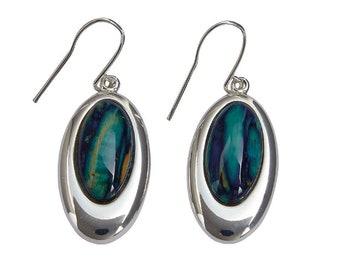 Celtic Oval Earrings, Scotland Jewelry, Outlander Jewelry, Celtic Jewelry, Wiccan Jewelry, Norse Jewelry, Girlfriend, Sister