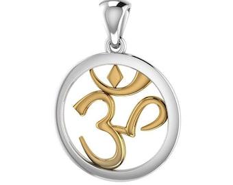 Om Necklace, Om Jewelry, Chakra Jewelry, Yoga Jewelry, Boho Jewelry, Inspirational Jewelry, Rainbow Jewelry, Anniversary Gift