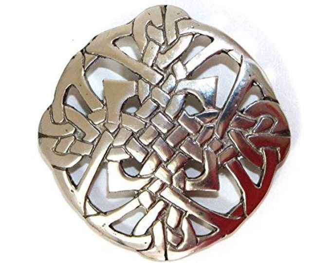 Celtic Knot Brooch, Celtic Jewelry, Irish Jewelry, Ireland Pin, Girlfriend Gift, Sister Gift, Scarf Pin, Wiccan Jewelry, Scotland Pin