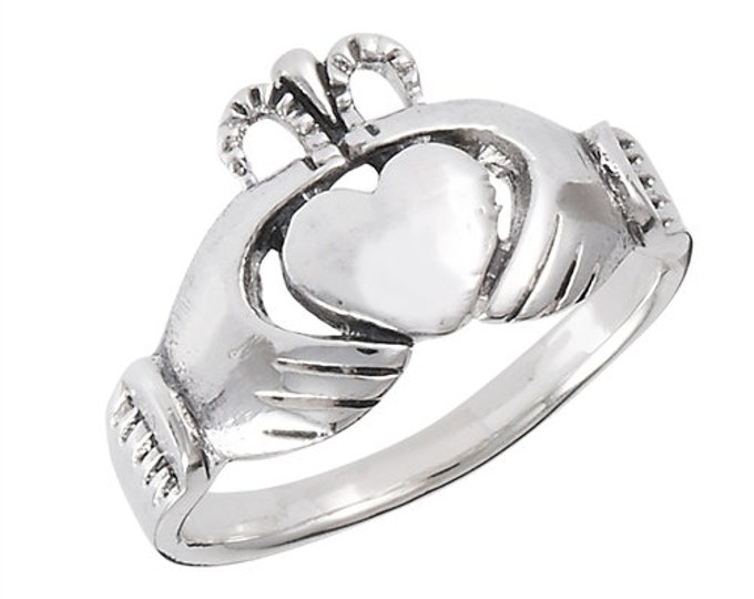 Claddagh Ring, Celtic Jewelry, Ireland Jewelry, Celtic Knot Jewelry, Irish Gift, Irish Dance Gift, Anniversary Gift, Bridal Jewelry