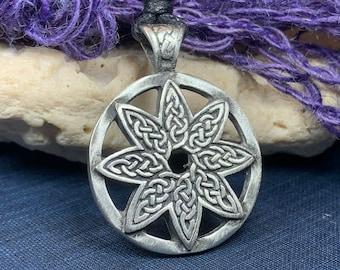 Celtic Knot Necklace, Ireland Gift, Irish Jewelry, Celtic Jewelry, Scotland Necklace, Norse Jewelry, Pewter Jewelry, Celtic Star Necklace