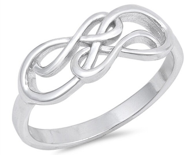 Celtic Knot Ring, Celtic Jewelry, Infinity Ring, Celtic Knot Jewelry, Irish Ring, Irish Dance Gift, Anniversary Gift, Bridal Ring, Wiccan