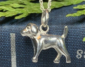 Loyal Hound Necklace, Dog Necklace, Animal Jewelry, Dog Lover Gift, Mom Gift, Sister Gift, Girlfriend Gift, Puppy Gift