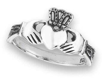 Claddagh Ring, Celtic Jewelry, Irish Jewelry, Celtic Knot Jewelry, Irish Ring, Irish Dance Gift, Anniversary Gift, Bridal Jewelry