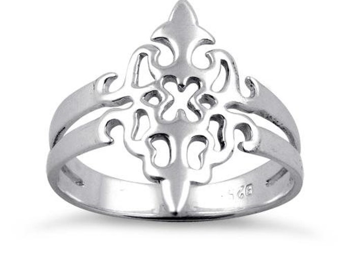 Celtic Knot Ring, Celtic Jewelry, Irish Jewelry, Celtic Shield Jewelry, Irish Ring, Irish Dance Gift, Anniversary Gift, Bridal Ring, Wiccan