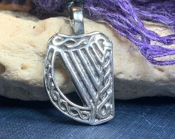 Shamrock Necklace, Ireland Gift, Irish Jewelry, Triple Spiral Jewelry, Celtic Jewelry, Clover Necklace, Saint Patrick's Day Gift