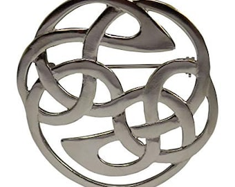 Celtic Knot Brooch, Celtic Pin, Wiccan Jewelry, Mom Gift, Sister Gift, Girlfriend Gift, Wife Gift, Ireland Pin, Best Friend Gift