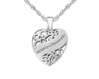 Trinity Knot Necklace, Celtic Jewelry, Irish Jewelry, Gaelic Jewelry, Triquetra Jewelry, Anniversary Gift, Soul Mate Jewelry, Bride Gift