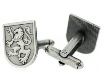 Lion of Scotland Pewter Cuff Links