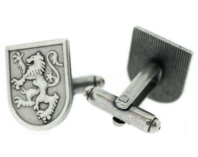 Lion of Scotland Cuff Links