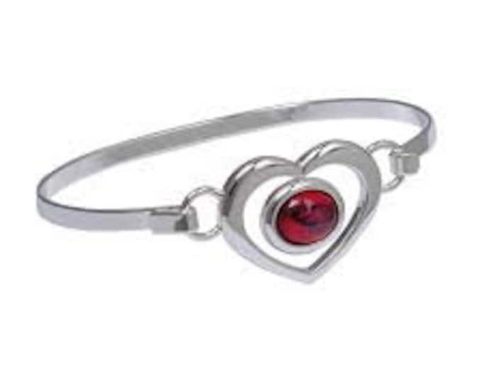 Sweet Heart Scottish Heather Celtic Bracelet