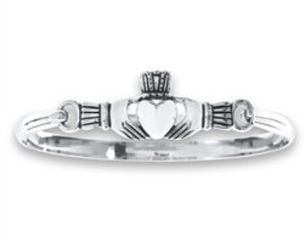 Claddagh Bracelet, Celtic Jewelry, Friendship Gift, Birthday, Anniversary, Gift for Her, Best Friend Gift, Sister, Bridal Jewelry