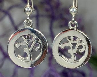 Om Earrings, Om Jewelry, Chakra Jewelry, Yoga Jewelry, Boho Jewelry, Inspirational Jewelry, Rainbow Jewelry, Anniversary Gift
