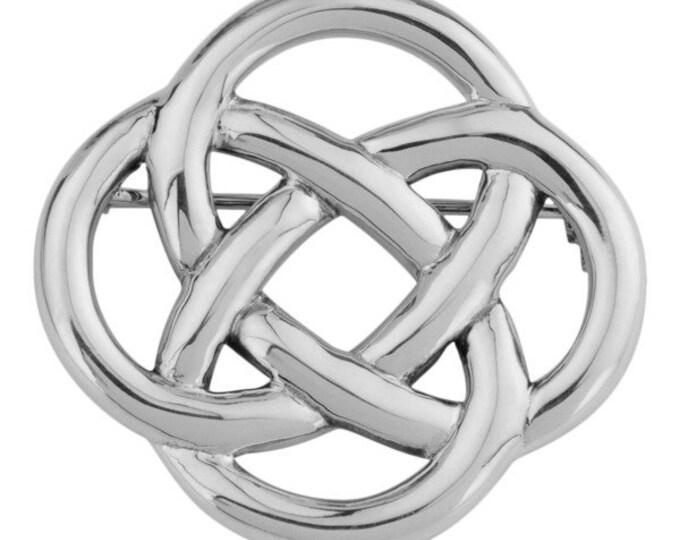 Celtic Knot Brooch, Wiccan Jewelry, Irish Brooch, Mom Gift, Celtic Pin, Coat Pin, Celtic Jewelry, Ireland Jewelry, Anniversary Gift