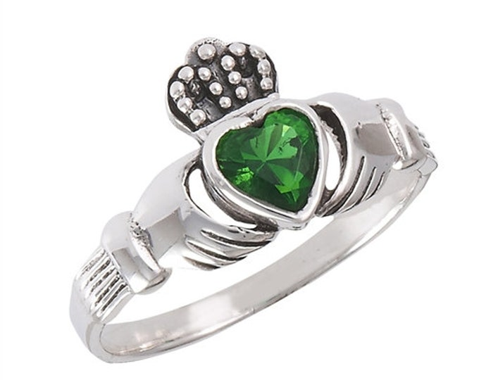 Claddagh Ring, Celtic Jewelry, Ireland Jewelry, Celtic Knot Jewelry, Irish Ring, Irish Dance Gift, Anniversary Gift, Bridal Jewelry