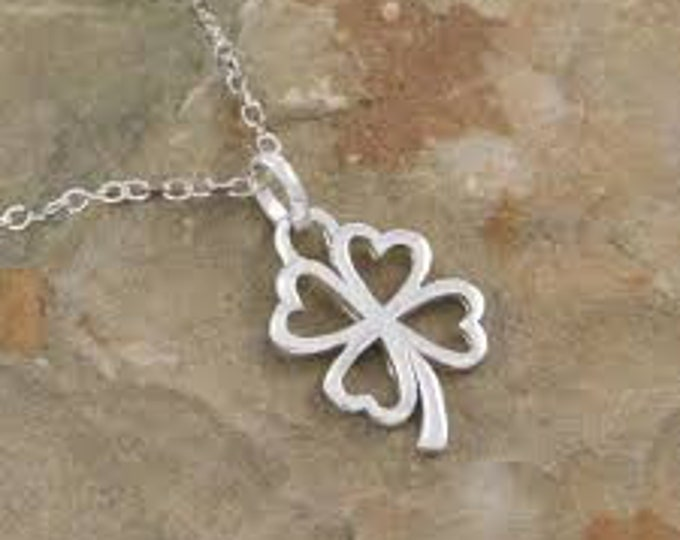 Shamrock Necklace, Clover Jewelry, Celtic Knot Necklace, Irish Gift, Anniversary Gift, Wedding Jewelry, Friendship Gift, Celtic Necklace