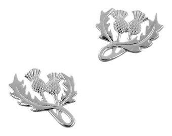 Thistle Stud Earrings, Flower Jewelry, Scotland Jewelry, Celtic Jewelry, Graduation, Anniversary Gift, Stud Earrings, Nature Jewelry, Roses
