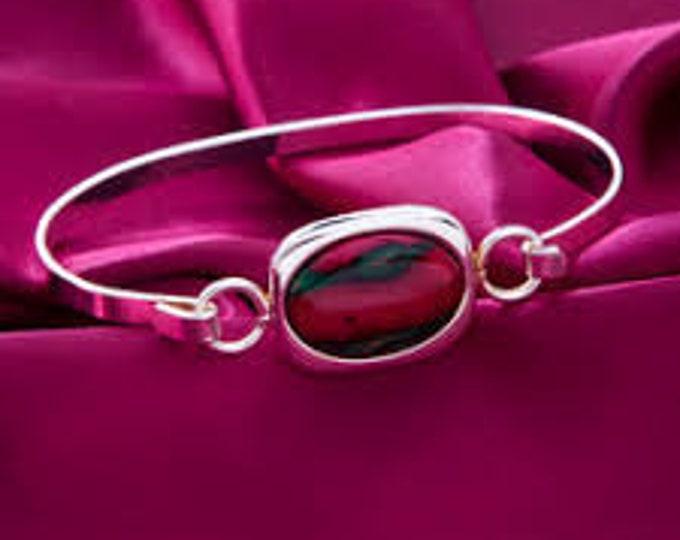 Scottish Heather Elegant Celtic Bracelet