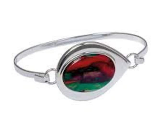 Bold Scotland Heather Modern Celtic Bracelet