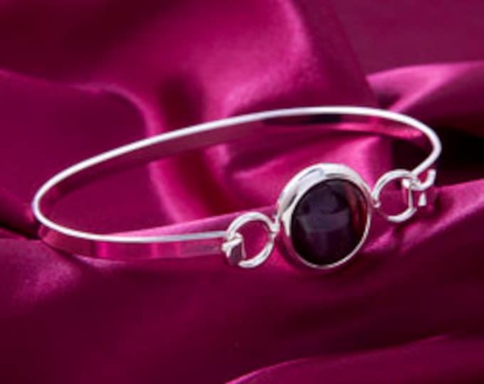Scotland Heather Bracelet, Celtic Jewelry, Heather Gem, Scotland Jewelry, Gift for Her, Nature Jewelry, Mother's Day Gift, Graduation Gift