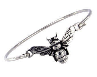 Bee Bracelet, Celtic Jewelry, Mom Gift, Honey Bee Jewelry, Outlander Gift, Wiccan Jewelry, Anniversary Gift, Girlfriend Gift, Wife Gift