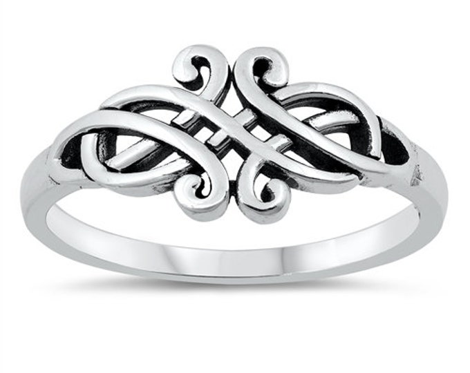 Celtic Knot Ring, Celtic Jewelry, Ireland Ring, Celtic Knot Jewelry, Irish Ring, Irish Dance Gift, Anniversary Gift, Bridal Ring, Wiccan