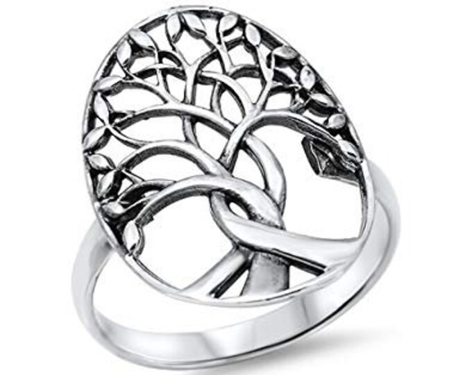 Tree of Life Ring, Celtic Jewelry, Ireland Jewelry, Norse Jewelry, Irish Gift, Tree Ring, Anniversary Gift, Bridal Jewelry, Sweet 16 Gift