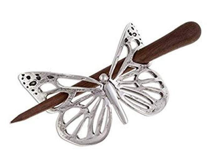 Butterfly Hair Slide, Celtic Jewelry, Mother's Day, Butterfly Jewelry, Friendship Gift, Graduation, Anniversary Gift, Butterfly Barrette