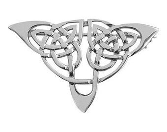 Celtic Knot Brooch, Celtic Jewelry, Irish Jewelry, Ireland Pin, Girlfriend Gift, Sister Gift, Scarf Pin, Wiccan Jewelry, Scotland Pin