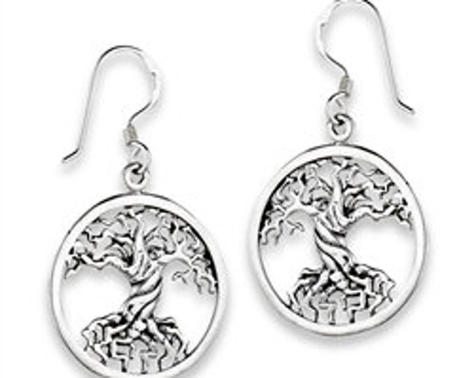 Tree of Life Earrings, New Age Jewelry, Anniversary Gift, Celtic Jewelry, Norse Jewelry, Gift for Her, Yoga Jewelry, Best Friend Gift