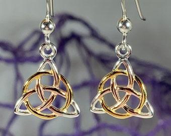 Trinity Knot Earrings, Celtic Knot Jewelry, Irish Jewelry, Celtic Jewelry, Graduation Gift, Outlander Jewelry, Graduation Gift, Mom Gift