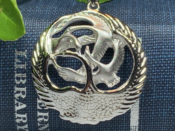 Swan Necklace, Children of Lir Jewelry, Celtic Jewelry, Mom Gift, Nature Necklace, Irish Jewelry, Ireland Jewelry, Nature Necklace
